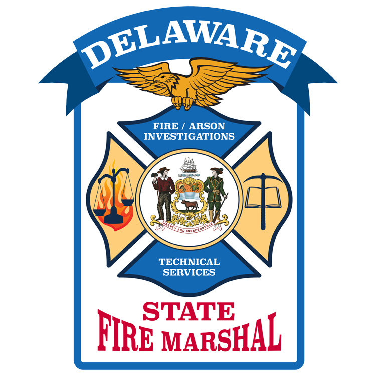 Delaware State Fire Marshal seal